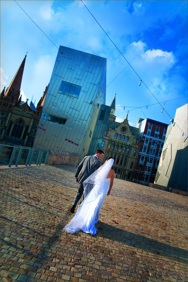 Federation Square Serendipity Wedding Photography