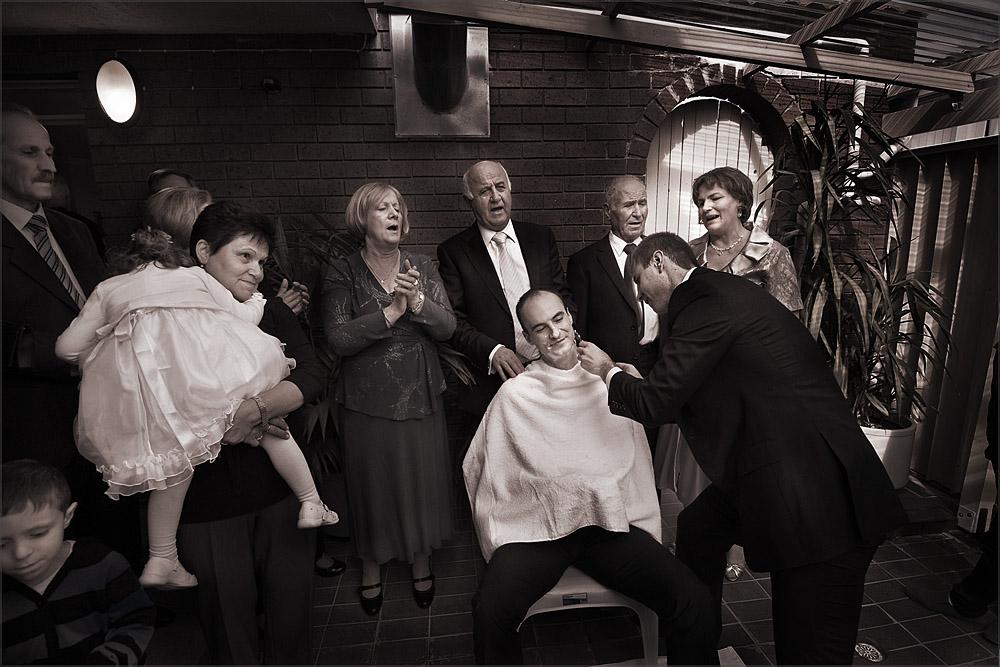 Macedonian Orthodox Customs Serendipity Photography Melbourne - Godfather Wedding Cake
