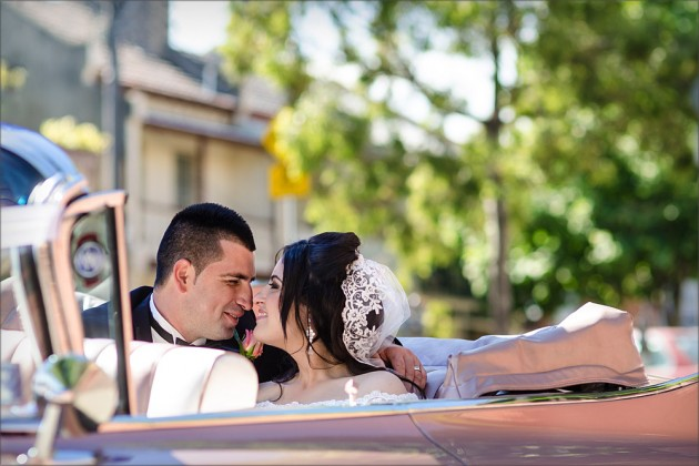 Serendipity Wedding Image - Retro Cars