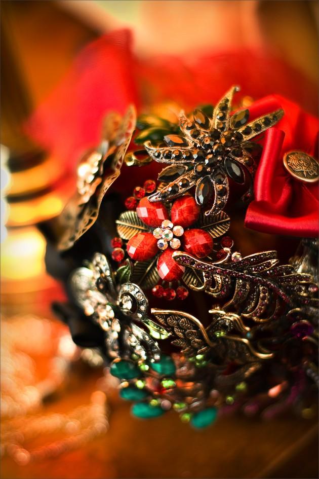 bridal brooch boquet