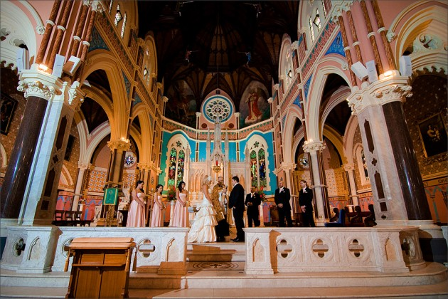 Serendipity Wedding Image- St Mary Star of The Sea