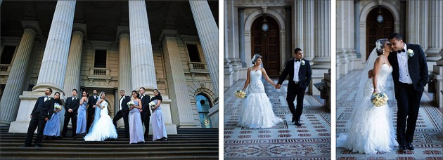 Martha's winter wedding at Parliament House