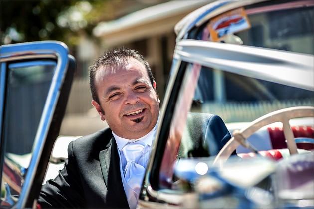 Serendipity Melbourne Wedding Image - Groom Car