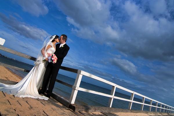 Serendipity Melbourne Wedding Photography - Kerford Road Pier - Albert Park - Kanchana
