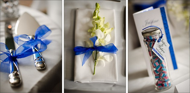 Table placements by Serendipity Wedding Photography