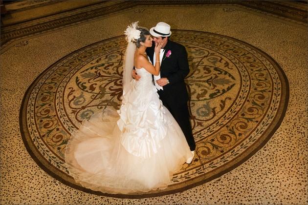 Bridal couple dance at Royal Arcade